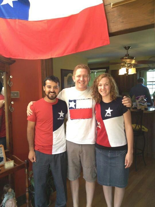 Make t-shirts for Chilean Independence Day
