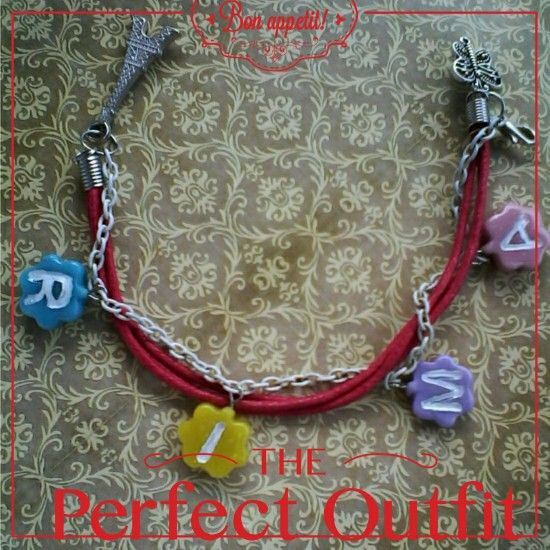 Cute bracelet with request name