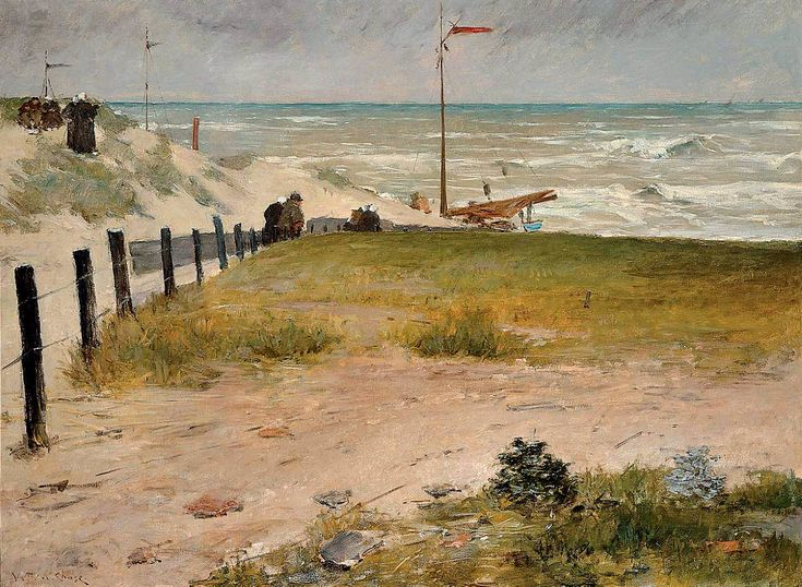 The Coast of Holland, 1884 - William Merritt Chase (American, 1849-1916)
