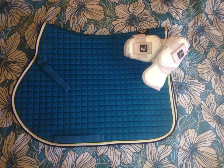 ESKADRON SaddlePad Cyan Cotton Next Generation Spring/Summer 2015
