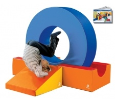 Tumble Obstacle for kids activity areas.   *use with foam mats  #kids #kidsplay