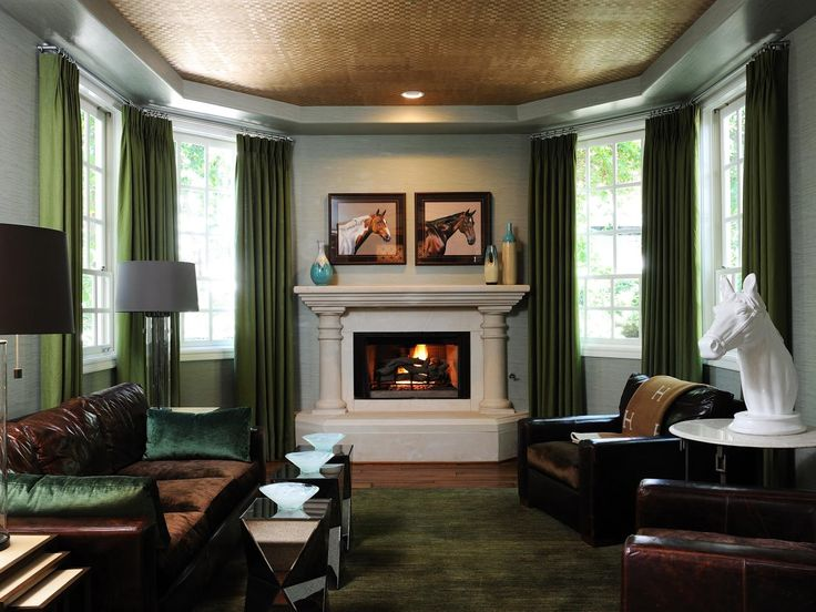 17 Green Rooms We Love