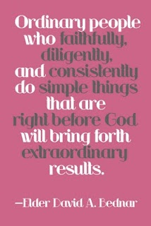 love this quoteWords Of Wisdom, God Will, Remember This, Ordinary People, Inspiration, Simple Things, Living, People Quotes, Elder Bednar
