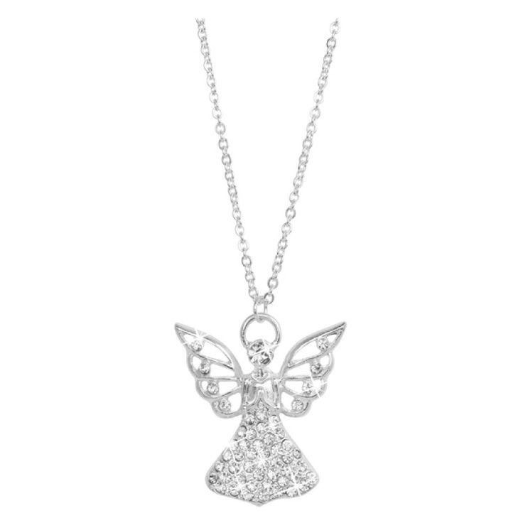 Montini Halsband Ängel Silver