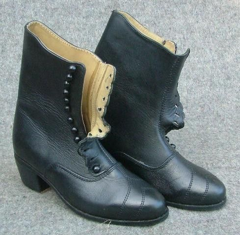 Old West/Civil War ladies boots