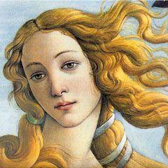 La naissance de Vénus, détail