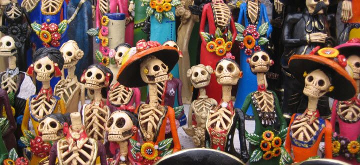 Colorful, long and spectacular!  There's no better way to describe the numerous celebrations that pepper the year throughout Mexico. Easter week in Veracruz. April's Feria de San Marcos in Aguascalientes. Guelaguetza during July in Oaxaca.