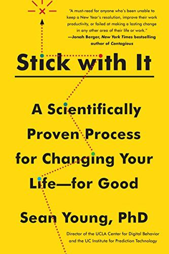 Only 99cents on Kindle Sept 26 – Oct 9th.  Packed with pragmatic exercises and stories of real people who have used them successfully, Stick with It shows that it is possible to control spending, stick to a diet, become more social, exercise regularly, stop compulsively checking e-mail, and overcome problem behaviors—forever.