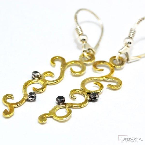 Zakręcone kolczyki - Kolczyki - Biżuteria srebrna