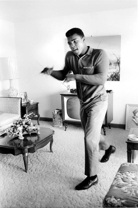 the black superman - Cassious Clay - Muhammad Ali
