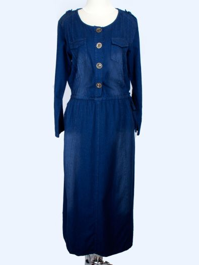 Gamis Jeans Jackie Rp. 145.000  Order via: www.nailah.co / SMS/WA: 0878 8718 2020 / BB: 748A8C99 /  FB: Nailah.co / IG/Twitter: @Nailah Williams.co