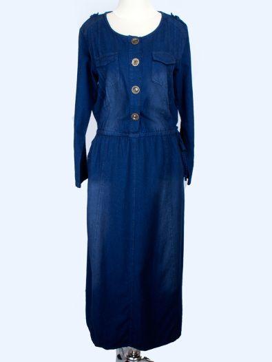 Gamis Jeans Jackie Rp. 145.000  Order via: www.nailah.co / SMS/WA: 0878 8718 2020 / BB: 748A8C99 /  FB: Nailah.co / IG/Twitter: @Nailah Williams.co