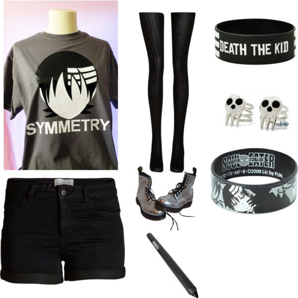 death the kid by bloodandglitter on Polyvore