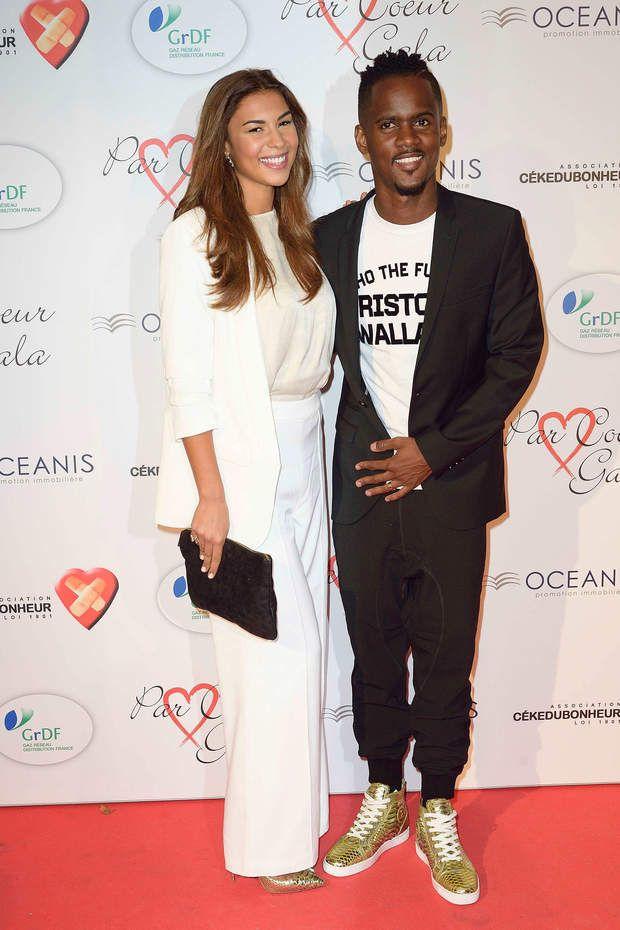 Le chanteur Black M et sa femme Lia