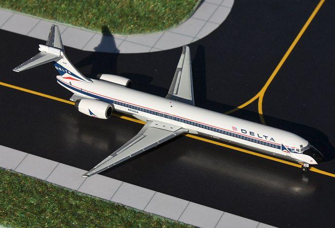 1/400 GeminiJets Delta Airlines McDonnell Douglas MD-90