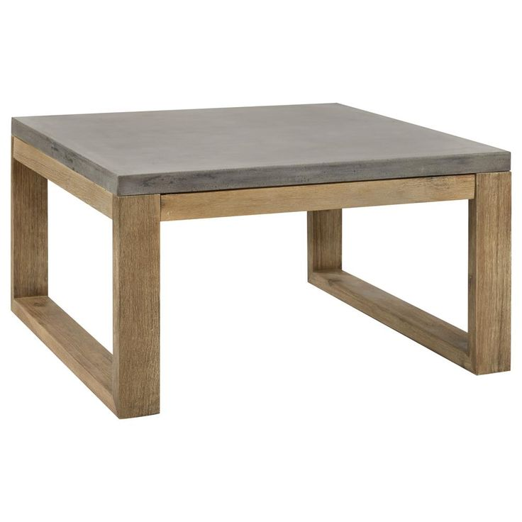 Best 20 concrete coffee table ideas on pinterest for Table de jardin en ciment