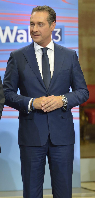 Heinz-Christian Strache   (born 12 June 1969, Vienna) He is an Austrian politician