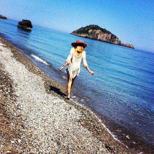 Hiliadou beach, Evia, Greece