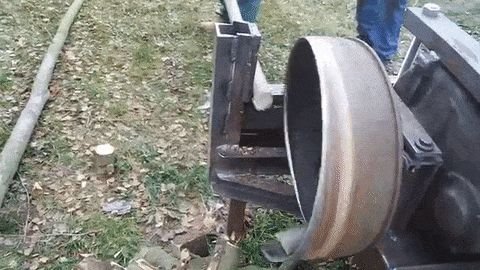 This Simple Polish Wood-Cutting Machine Is A Joy To Watch