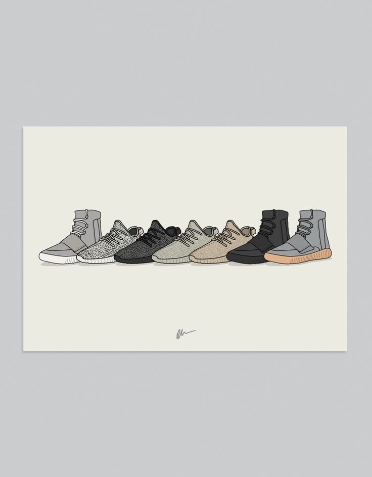 Image of ★ NEW ★ YEEZY BOOST COLLECTION Sneakers
