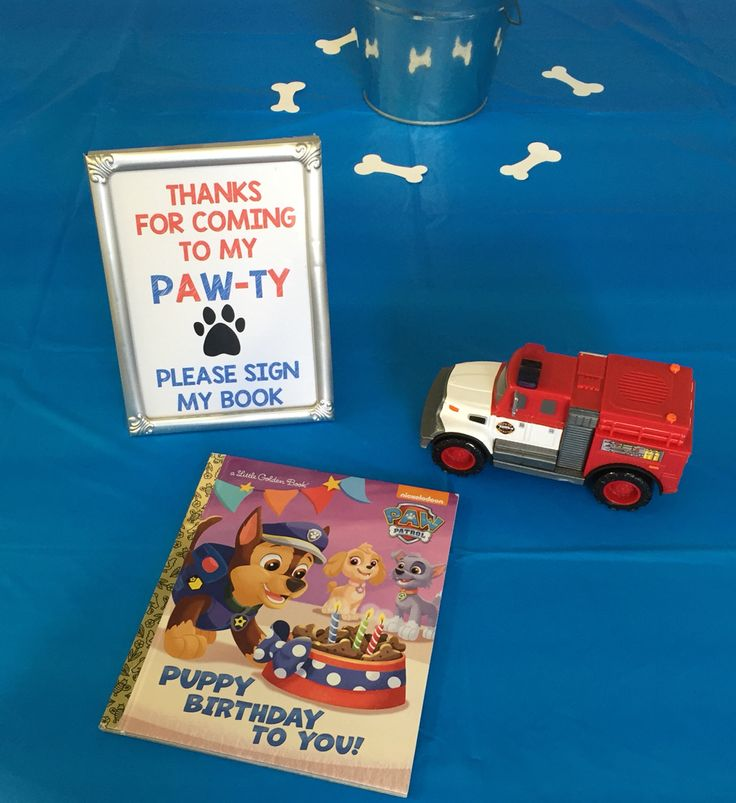 Paw Patrol Birthday Party! Sign from @little_michaels on ETSY