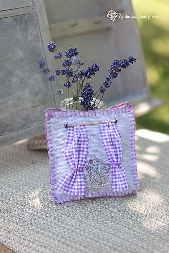 lavender sache by dovilej, via Flickr