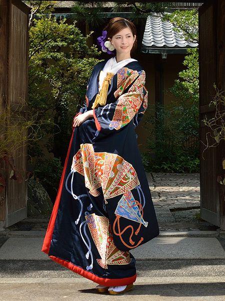 Japanese KIKONO for wedding