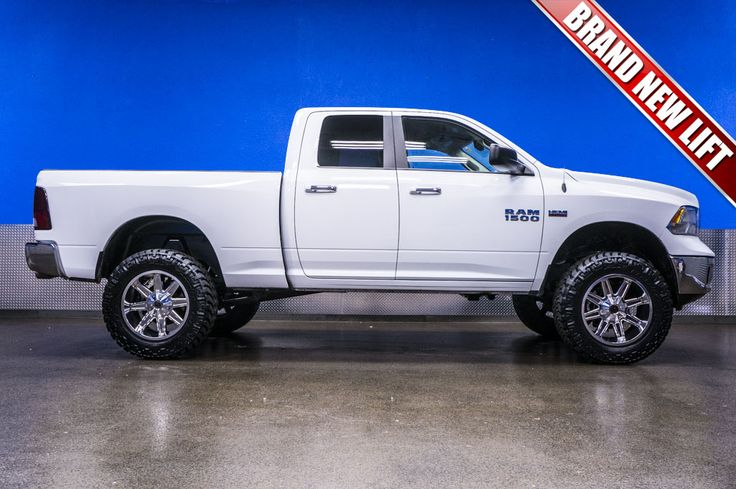 "2014 Dodge Ram 1500 Big Horn 4x4 Truck For Sale with Brand New 6"" Fabtech Performance Lift with 20"" XD Trap Wheels on 35"" x 12.50 R20 Nitto Trail Grappler Tires 