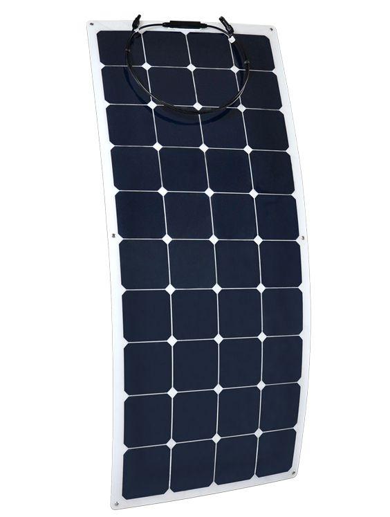 Panneau solaire flexible 12V 140W monocristallin back contact