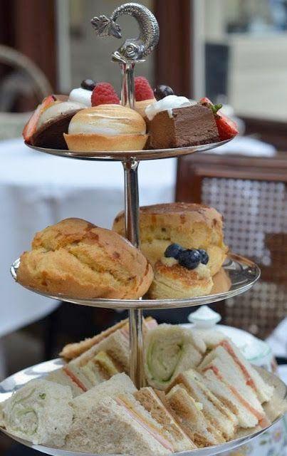 Afternoon tea – bjudningen som är lika vacker som god   Sköna hem