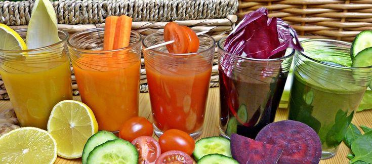 Centrifugati detox: le 5 ricette da provare - 5 proposte di beveroni a base di frutta e verdura per depurare l'organismo
