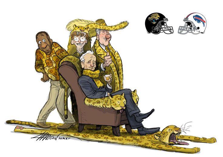 Fantasy Football XIV: Jacksonville Jaguars vs Buffalo Bills #billmurray by Austin Madison