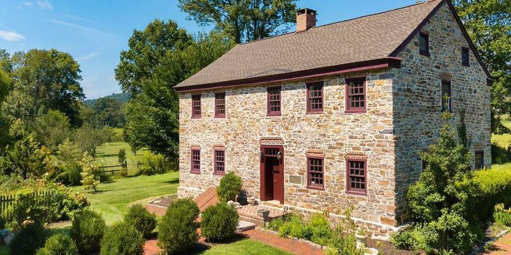 67 Best Stone Homes Images On Pinterest Stone Houses