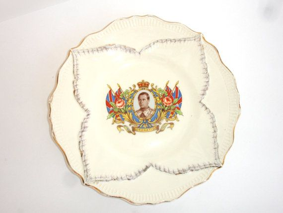 1930s Sheppard & Son Coronation King Edward VIII by FillyGumbo