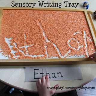Sensory Writing Tray