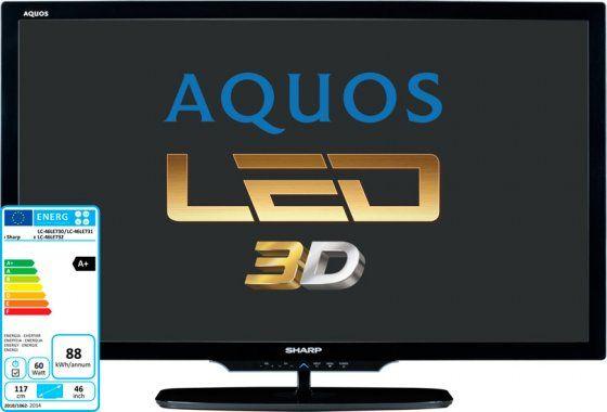 Sharp LC46LE730E FULL-HD 3D LED TV