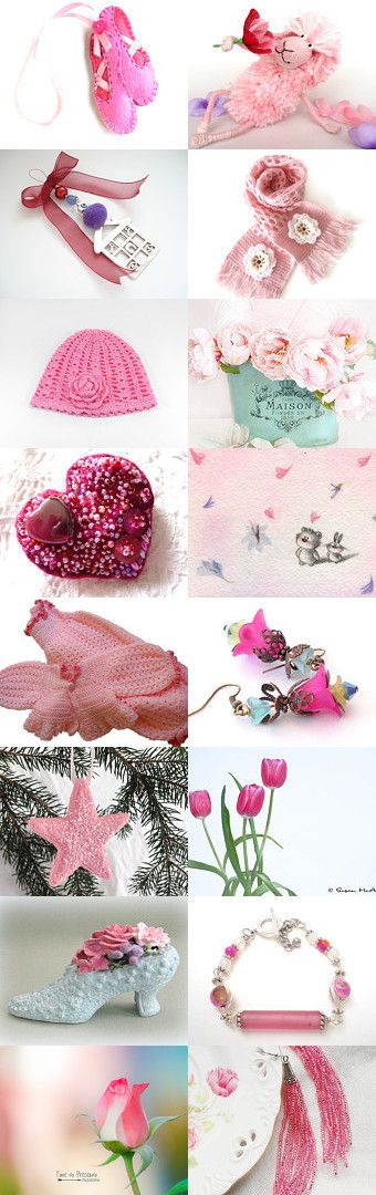 good old sweet pink :o) by Tatie on Etsy--Pinned with TreasuryPin.com
