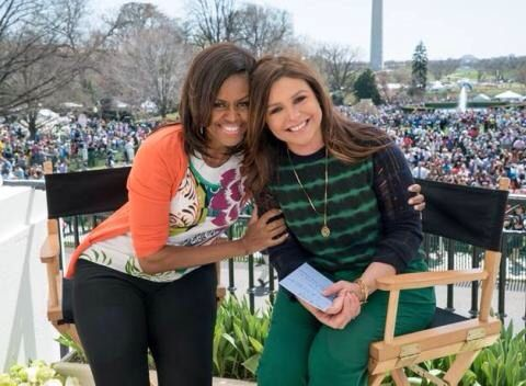First Lady Michelle Obama Rachael Ray...April 2015 ...