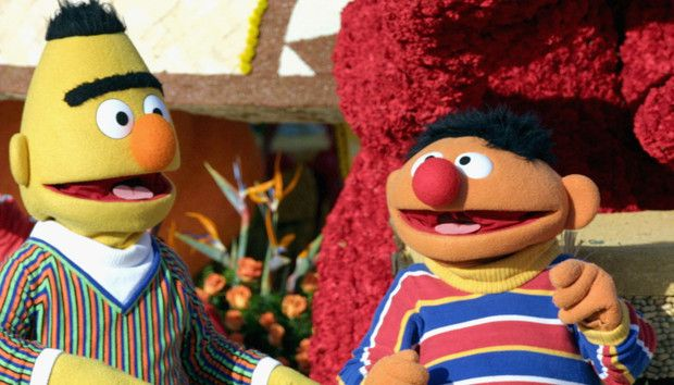 Sesame Workshop says Bert are Ernie are 'best friends' and not gay - Events in World Milo And Otis, Sesame Street Muppets, Bert & Ernie, Theme Tunes, Romance, Just Friends, Gay Couple, Back In The Day, Puppets