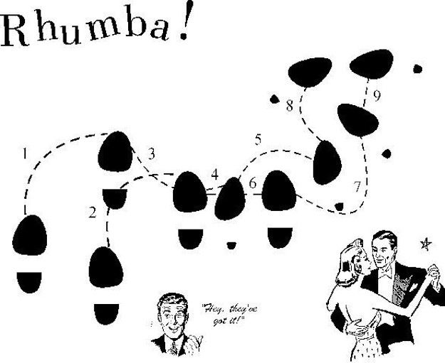 The Rhumba   15 Infographics That Will Make You A Great Dancer
