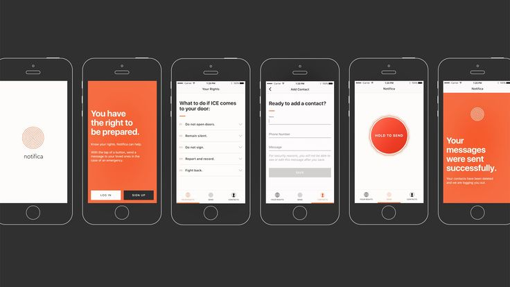 This App Sends A Distress Signal From Immigrants Being Detained | Co.Design | business + design