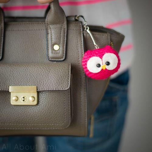 DIY Owl Key Chain