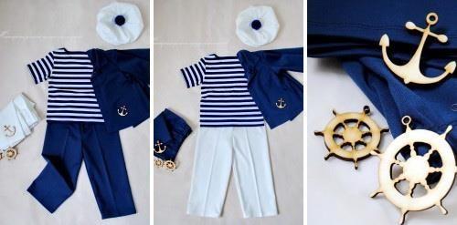 Как сделать костюм моряка
