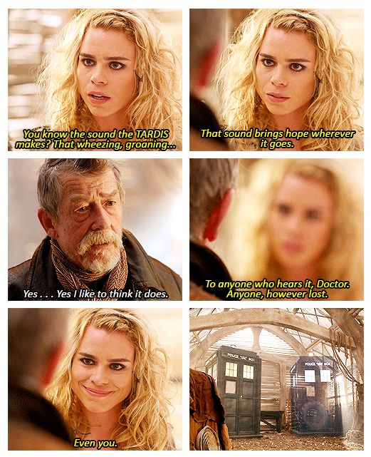 That sound brings hope wherever it goes. *sniffle* #doctorwho