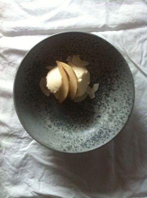 Coconut-baobab parfait. Recipe: La Cucina Nada