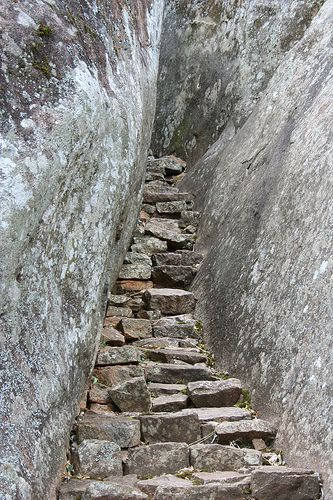 Here is another picture of stairs at the Ruins of Great Zimbabwe