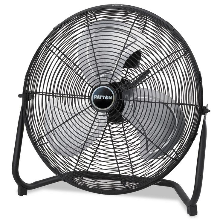 Patton High Velocity Fan Three-Speed 8.58-inch wide x 22.83-inch high