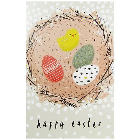 106 best calendar easter images on pinterest bunny rabbit buy art file easter chick card online at johnlewis negle Choice Image