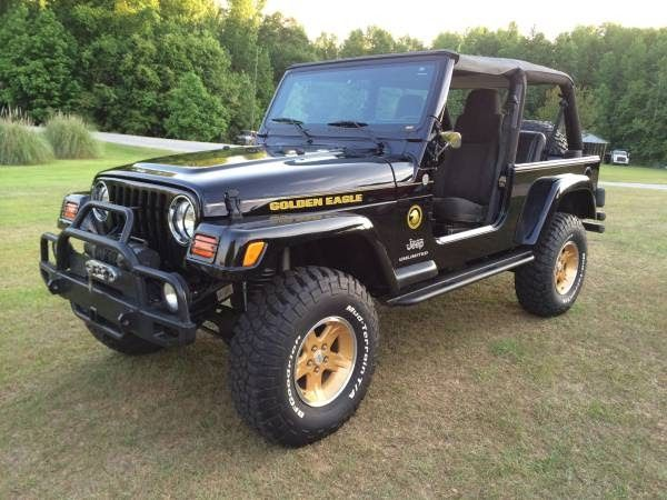 2004 Jeep Wrangler Unlimited LJ Golden Eagle For Sale $20,000