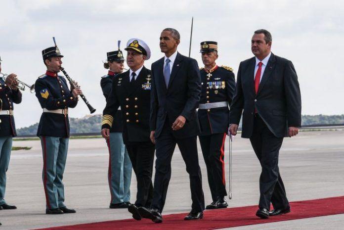 Γελάνε τα μουστάκια του Καμμένου: Ποια η τσαχπινιά του Ομπάμα στον Καμμένο που τον τρέλανε [φωτο]